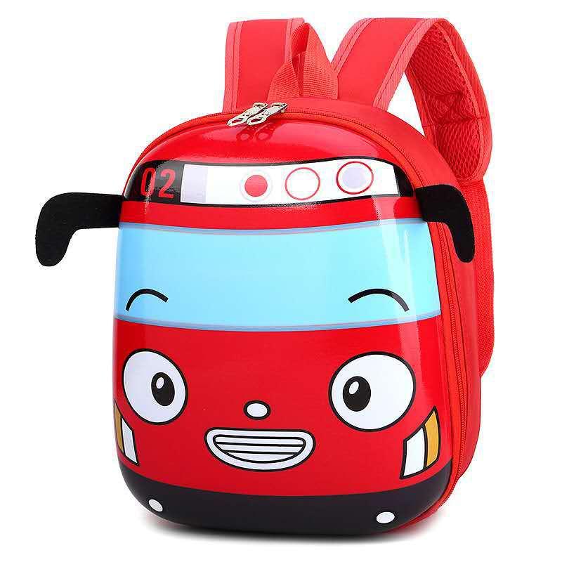 Toddler Kids Super Racing Car Kindergarten Schoolbag Backpack Bag