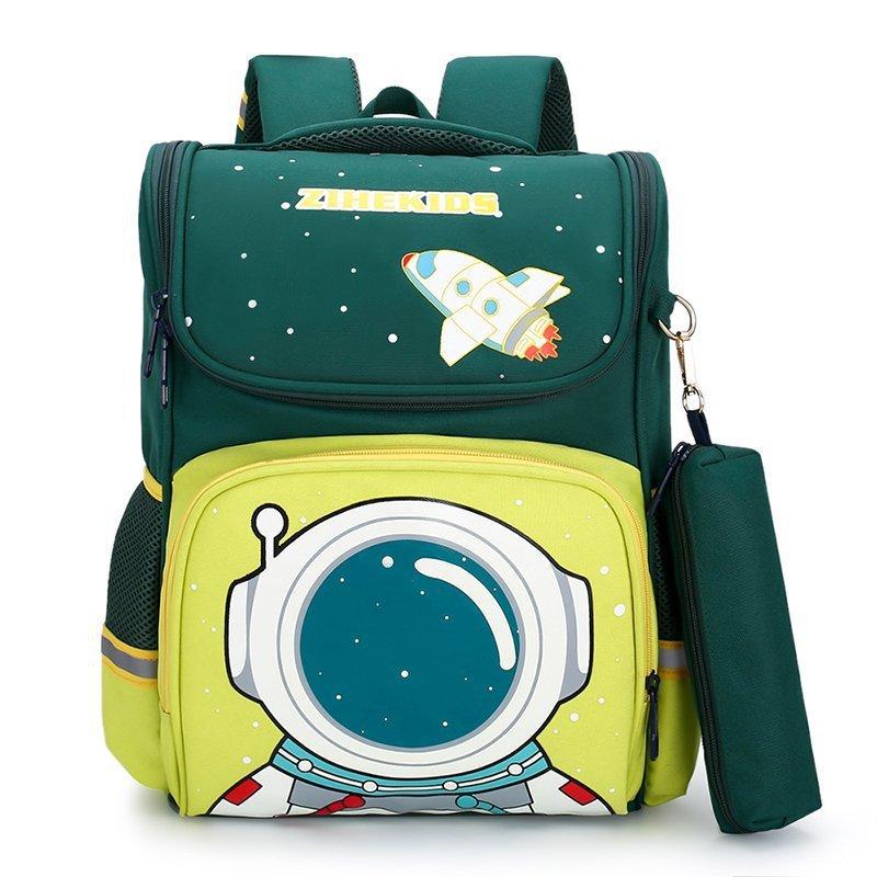 Elementary School Space Student Backpack Schoolbag