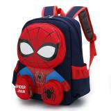Primary Kindergarten Spiderman Schoolbag Lightweight Waterproof Backpack School Bag