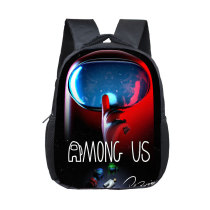 Among us Primary School Students Waterproof School Bag
