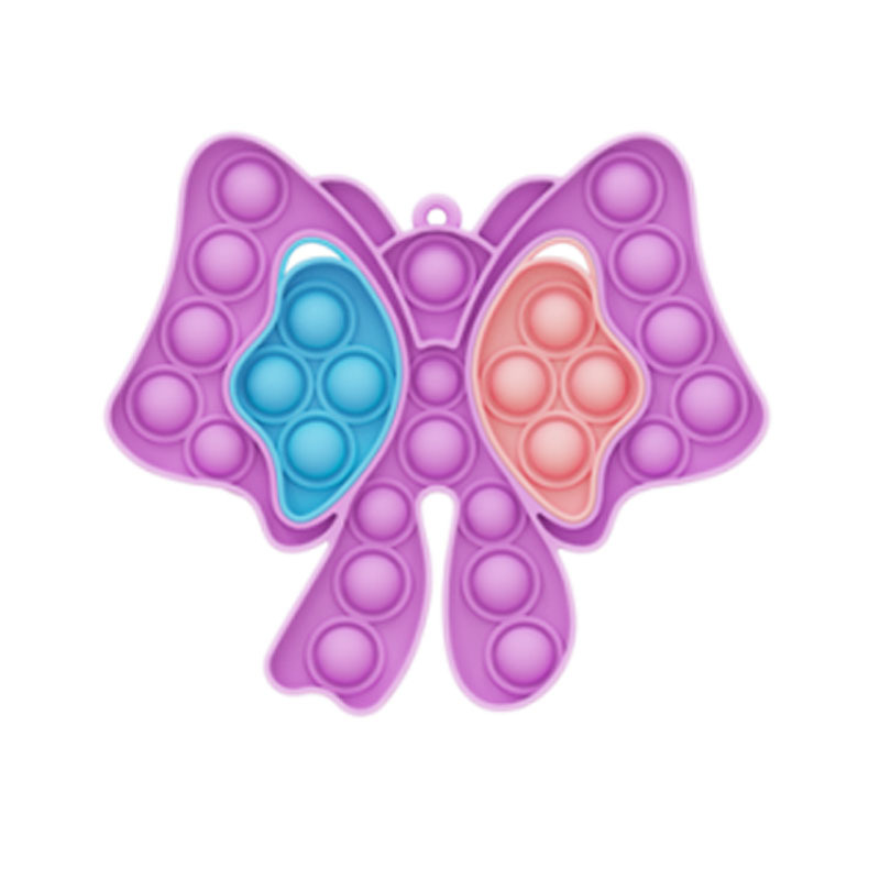 Butterfly Pop It Fidget Toy Push Pop Bubble Sensory Fidget Toy Stress Relief for Kids & Adult