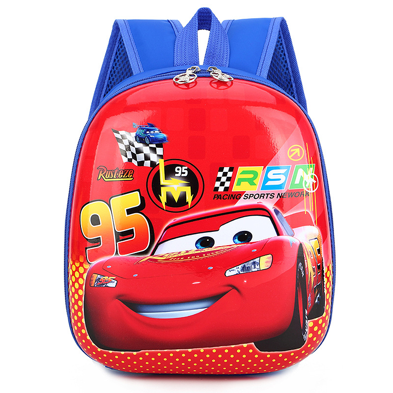 Toddler Kids Racing Car Kindergarten Schoolbag Backpack Bag