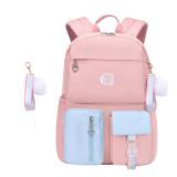 Primary School Backpack Rainbow Waterproof School Bag