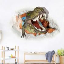 Home Decorative 3D Dinosaur Wallpaper Paste Bedroom Living Room Children's Room Decorative Painting