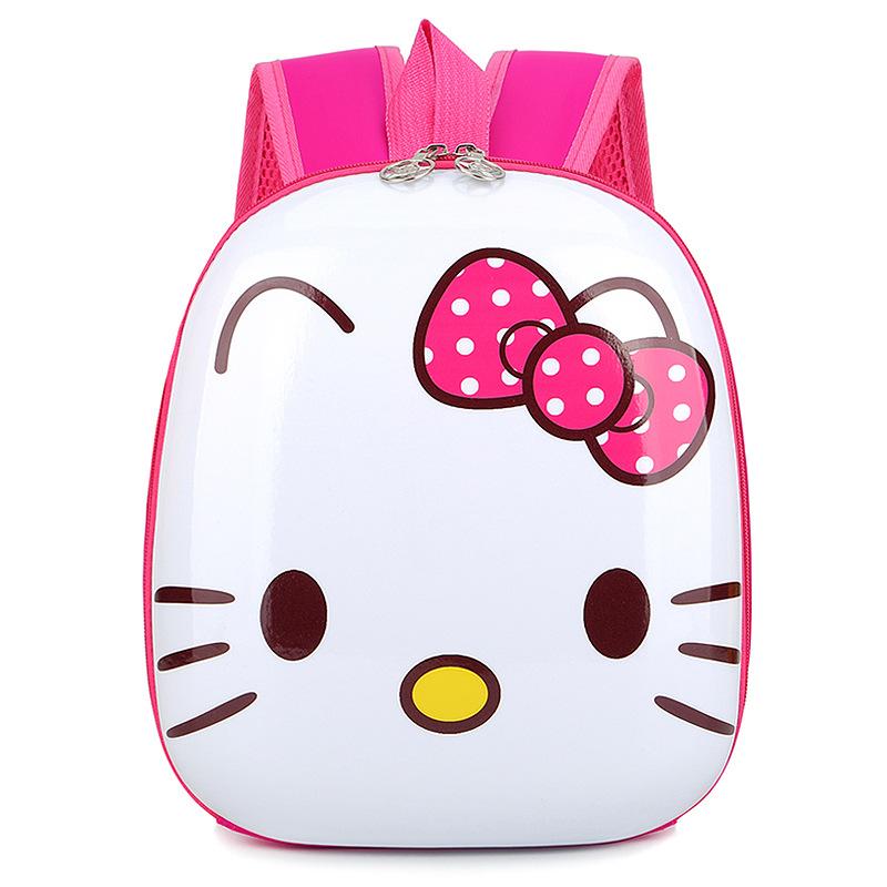 Toddler Kids Hello Kitty Animals Kindergarten Schoolbag Backpack Bag