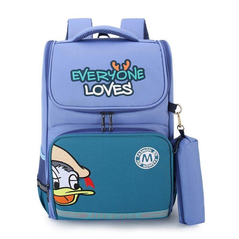Elementary School Backpack Donald Duck Schoolbag