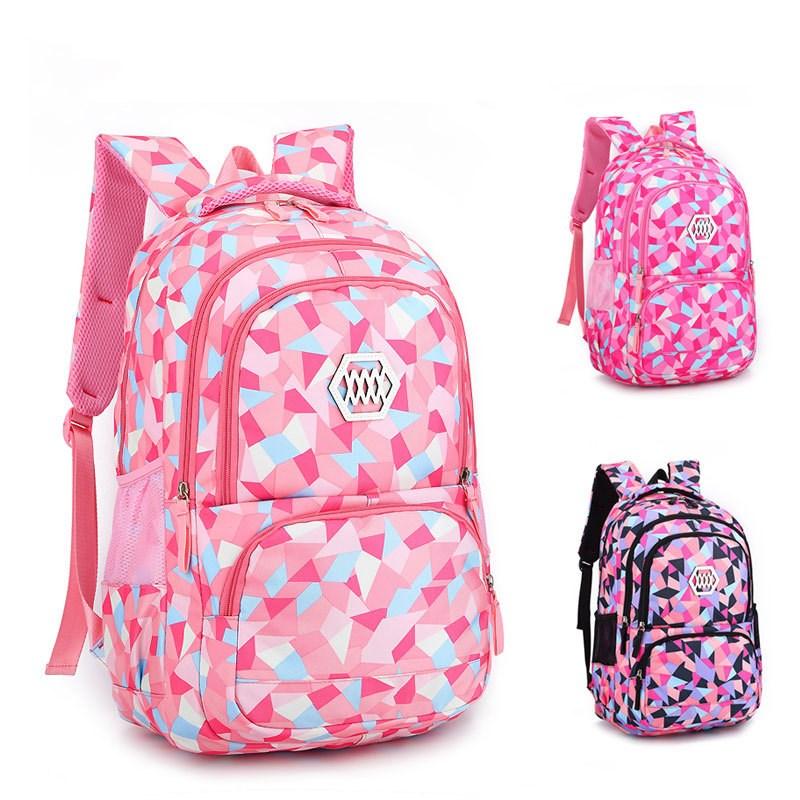 Macthing Color Students Sport Waterproof Schoolbag Backpack Bag