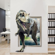 Home Decorative 3D Dinosaurs Wall Stickers Wallpaper