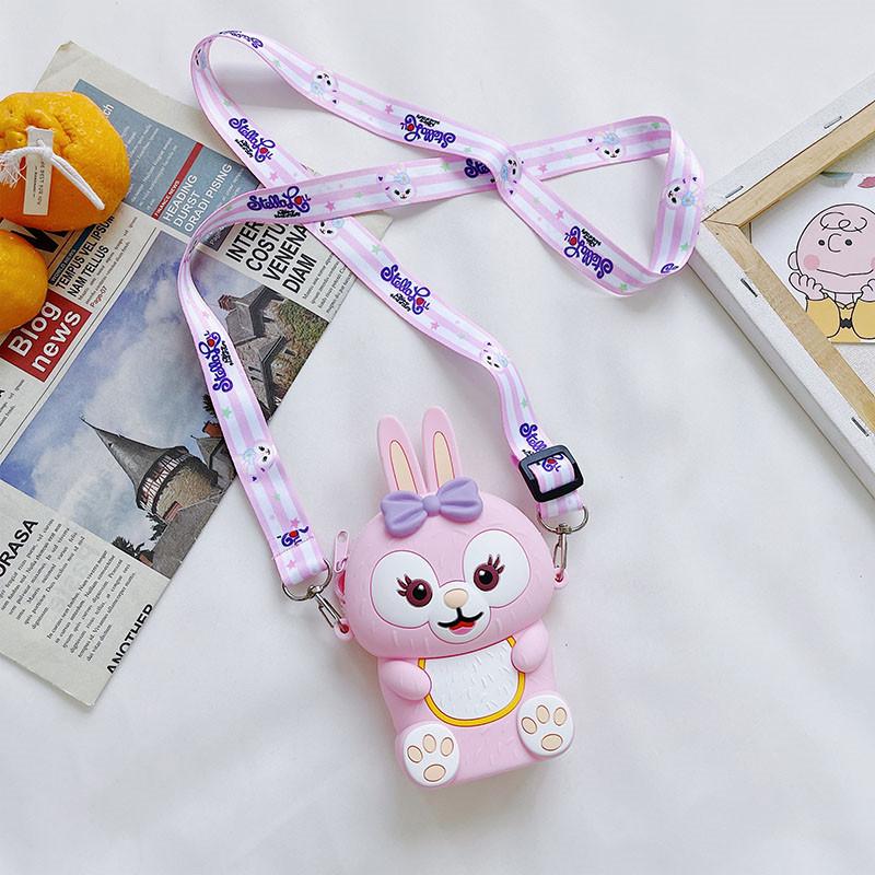 Cute Rabbit Silicone Coin Purse Shoulder Bag