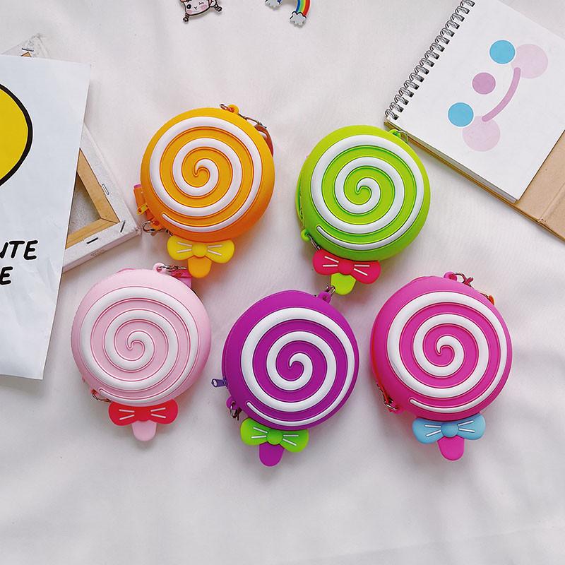 Mini Cute Lollipop Coin Purse Single Shoulder Bag