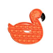 Flamingo Pop It Fidget Toy Push Pop Bubble Sensory Fidget Toy Stress Relief for Kids & Adult