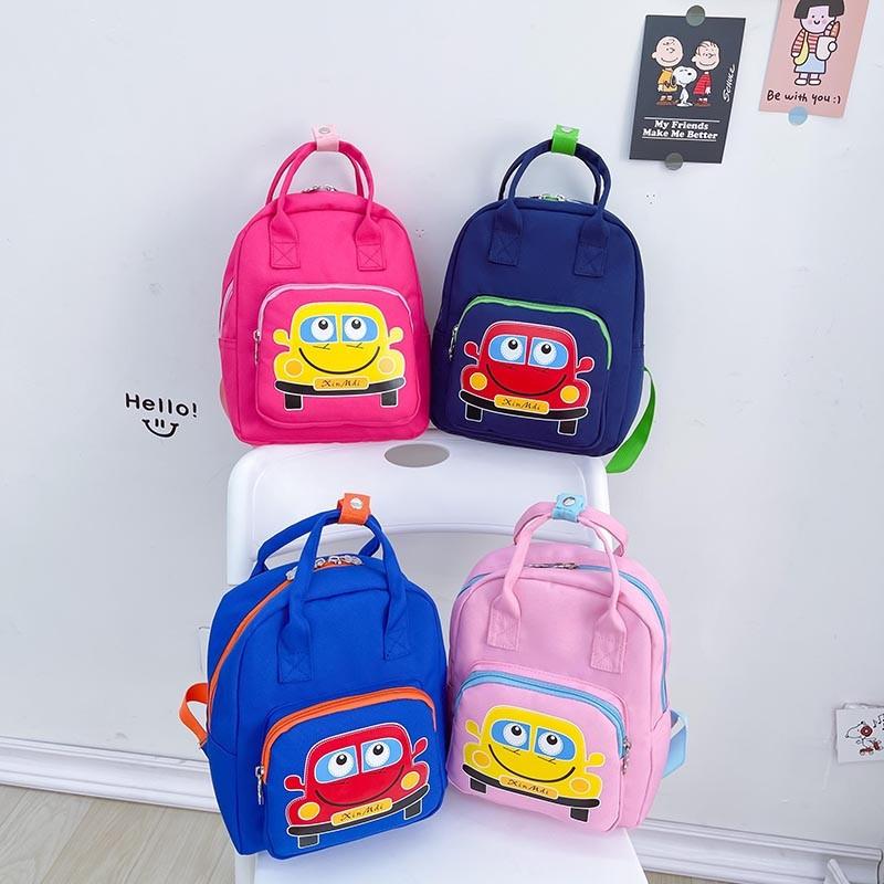Kindergarten Car Schoolbag Lightweight Waterproof Backpack Bag