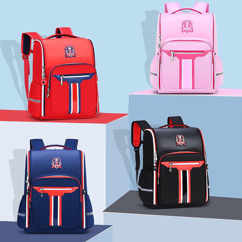 Primary School Students Backpack Waterproof School Bag