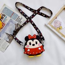 Disney Minnie Mini Silicone Bag Single Shoulder Bag Coin Purse