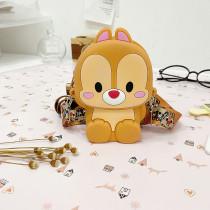 Bunny Cony Mini Cute Silicone Coin Purse Single Shoulder Bag