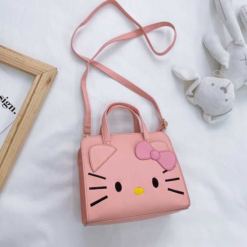 Cute Hello Kitty Cartoon Single Shoulder Bag