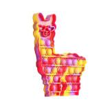 Lama Alpaca Pop It Fidget Toy Push Pop Bubble Sensory Fidget Toy Stress Relief for Kids & Adult