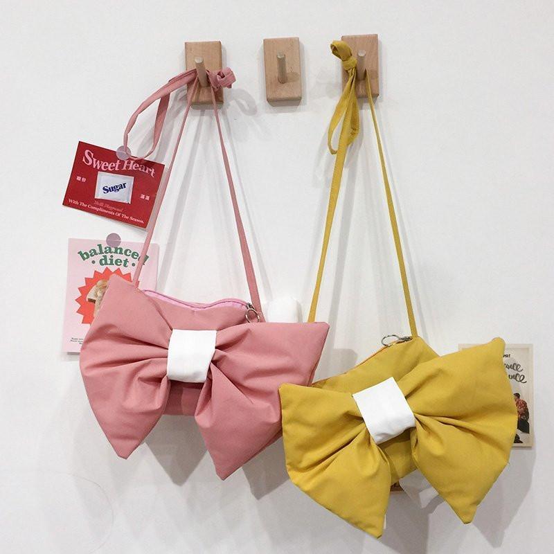 Cute Bowknot Single Shoulder Bag