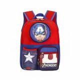 Kids Captain America Kindergarten Schoolbag Backpack Bag