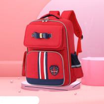 Macthing Color Students Waterproof Schoolbag Canvas Backpack Bag