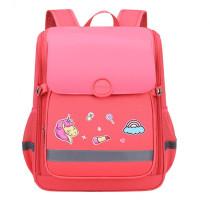 Unicorn Astronaut Elementary Students School Backpack Waterproof SchoolBag