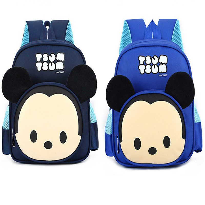 Toddler Kids Cute Mickey Minnie Animals Kindergarten Schoolbag Backpack Bag