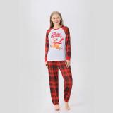 Christmas Family Matching Sleepwear Pajamas Sets Deer Merry Christmas Plaids Top and Pants
