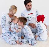 Toddler Kids Boys and Girls Christmas Pajamas Sets Blue Cartoon Snoopy Top and Pants