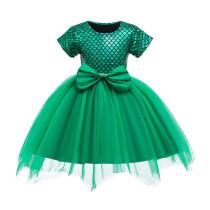 Toddler Kid Girls Green Mermaid Princess Tutu Dress