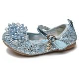 Toddler Girl Crystal Bead Sequins Frozen Princess Aisha Dress Shoes
