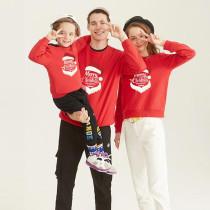 Christmas Matching Family Santa Slogans Merry Christmas Everyone Christmas Sweatshirt Tops