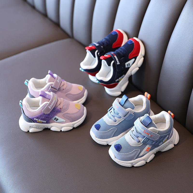 Toddler Kids Mesh Breathable Sports Sneakers Shoes For Boys and Girls