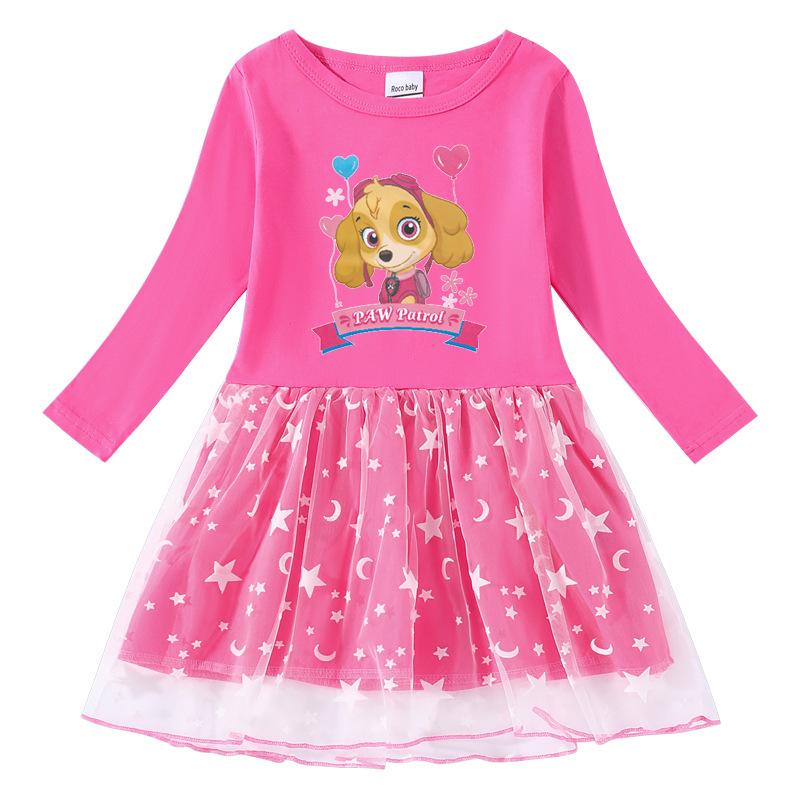 Toddler Girl PAW Long Sleeve Princess Dress