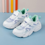 Toddler Kids Macthing Ombre Color Mesh Breathable Sports Sneakers Shoes