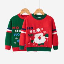 Toddler Girl Hohoho Santa Claus Sweater