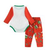 KidsHoo Exclusive Design Christmas Family Matching Sleepwear Pajamas Sets Red Grinch Hohoho Slogan Sets