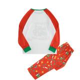 KidsHoo Exclusive Design Christmas Family Matching Sleepwear Pajamas Sets Red Grinch Slogan Sets