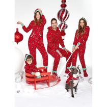 Christmas Family Matching Pajamas Red ELF Clowns Christmas Pajamas Sets