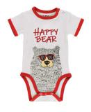 KidsHoo Exclusive Design Christmas Family Matching Sleepwear Pajamas Sets Cool Glasses Bear Pajamas Sets