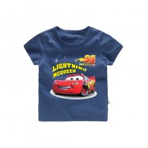 Boys Prints Racing Cars T-shirts