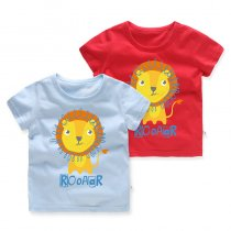 Boys Prints Roar Lion T-shirt