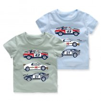 Boys Prints 3 Cars T-shirt