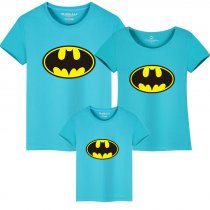 Matching Family Prints Batman Famliy T-shirts