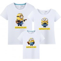 Matching Family Prints Minions Famliy T-shirts