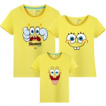 Matching Family Prints Simpson Famliy T-shirts