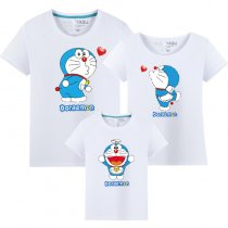 Matching Family Prints Doraemon Famliy T-shirts