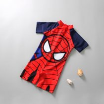 Kid Boys Print Spiderman One-Piece Swimwear