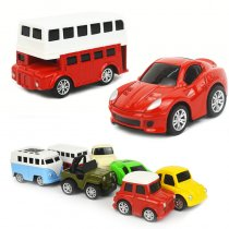 Model 1/48 Scale Vehicles Alloy Pull Back Toy Cars For 3Y+ Kids