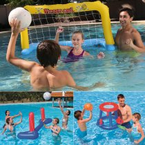 Inflatable Swimming Water Beach Toys (Basketball Volleyball Net Handball Door) For Kids and Adults