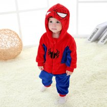 Baby Red Spider Man Onesie Kigurumi Pajamas Kids Animal Costumes for Unisex Baby